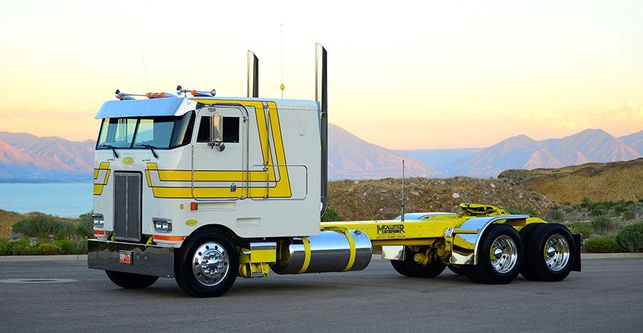 A Cabover Comeback Big Trucks Semi Trucks Trucks