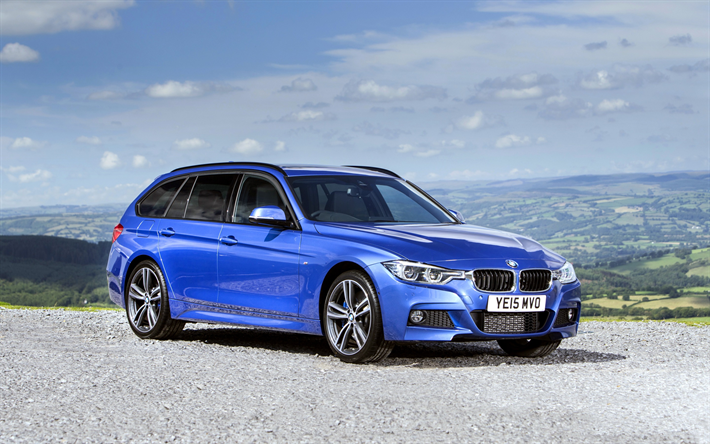 Download wallpapers BMW 3-series Touring, wagons, F31 ...