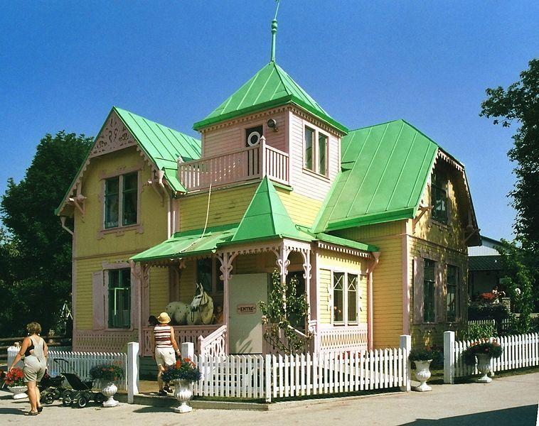 Villa Villekulla, la casa de Pippi Långstrump el blog