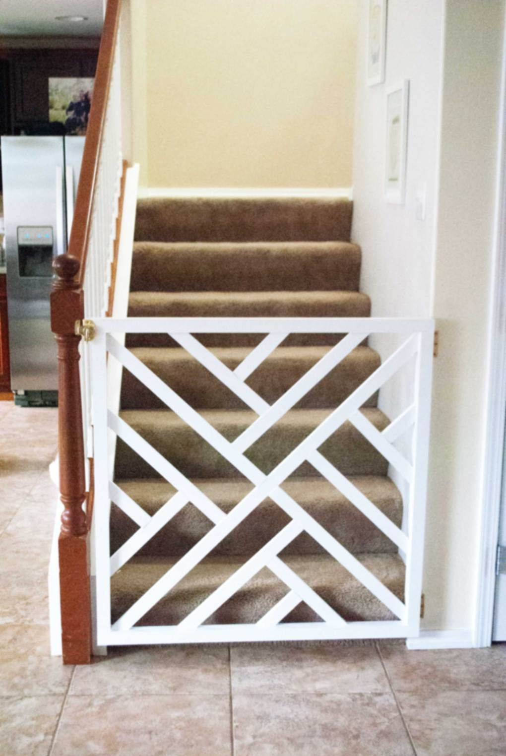 Diy baby gate pet gate baby gate for stairs baby gates