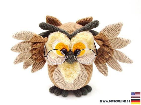 Owl - amigurumi crochet pattern | crochet patterns | Owl crochet