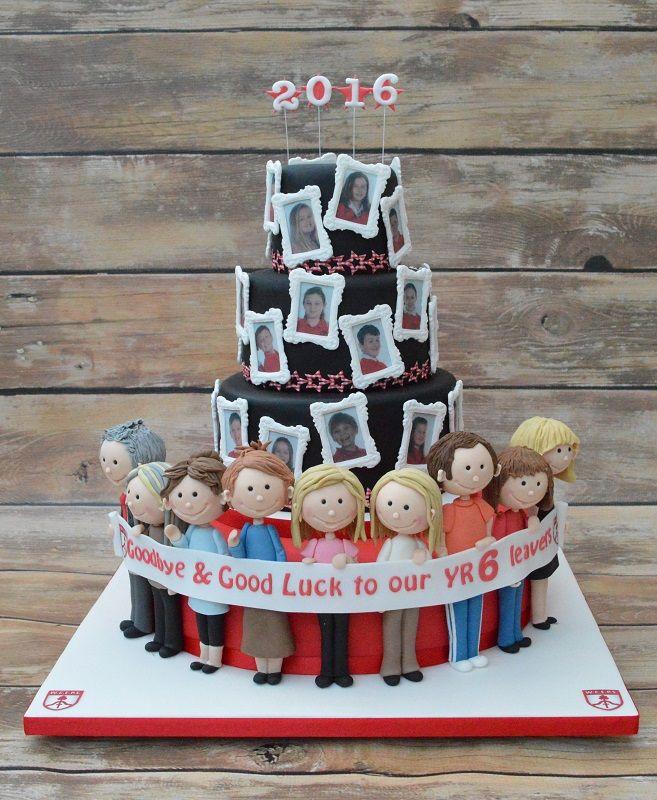 School leavers cake www.cakesbykaren.co.uk in 2019 ...