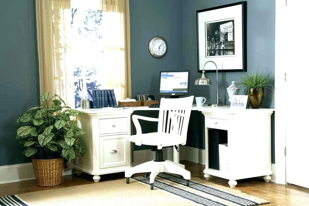 White Home Office Desks In 2020 Modular Home Office Furniture Office Furniture Design Home Office Furniture Design