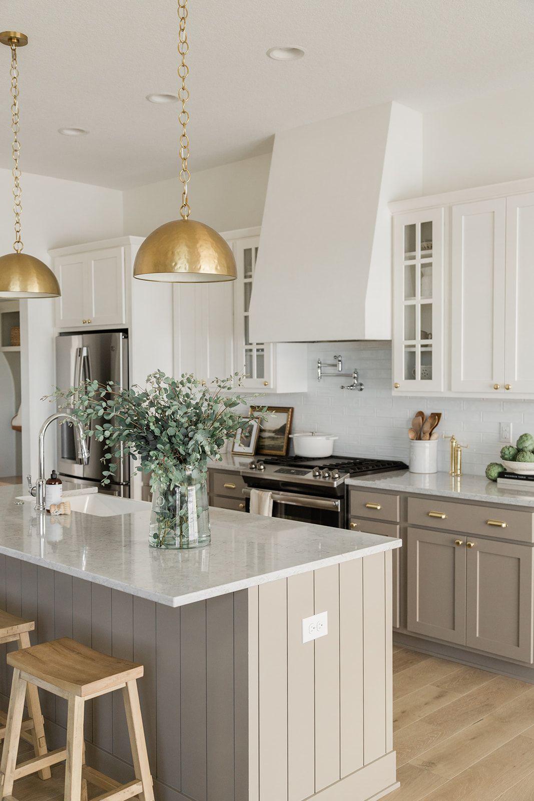 Gold Kitchen Pendants