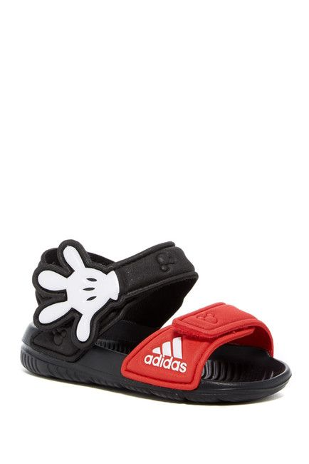 a3ae412e80cf Image of adidas Disney Mickey Mouse Akwah 9 Sandal (Toddler ...