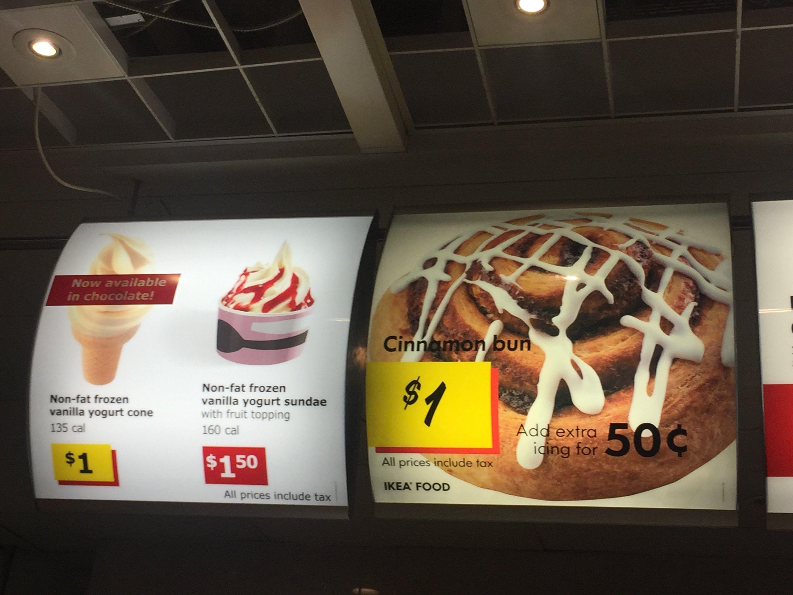 Fond De Hotte Verre Ikea ikea food menu and prices