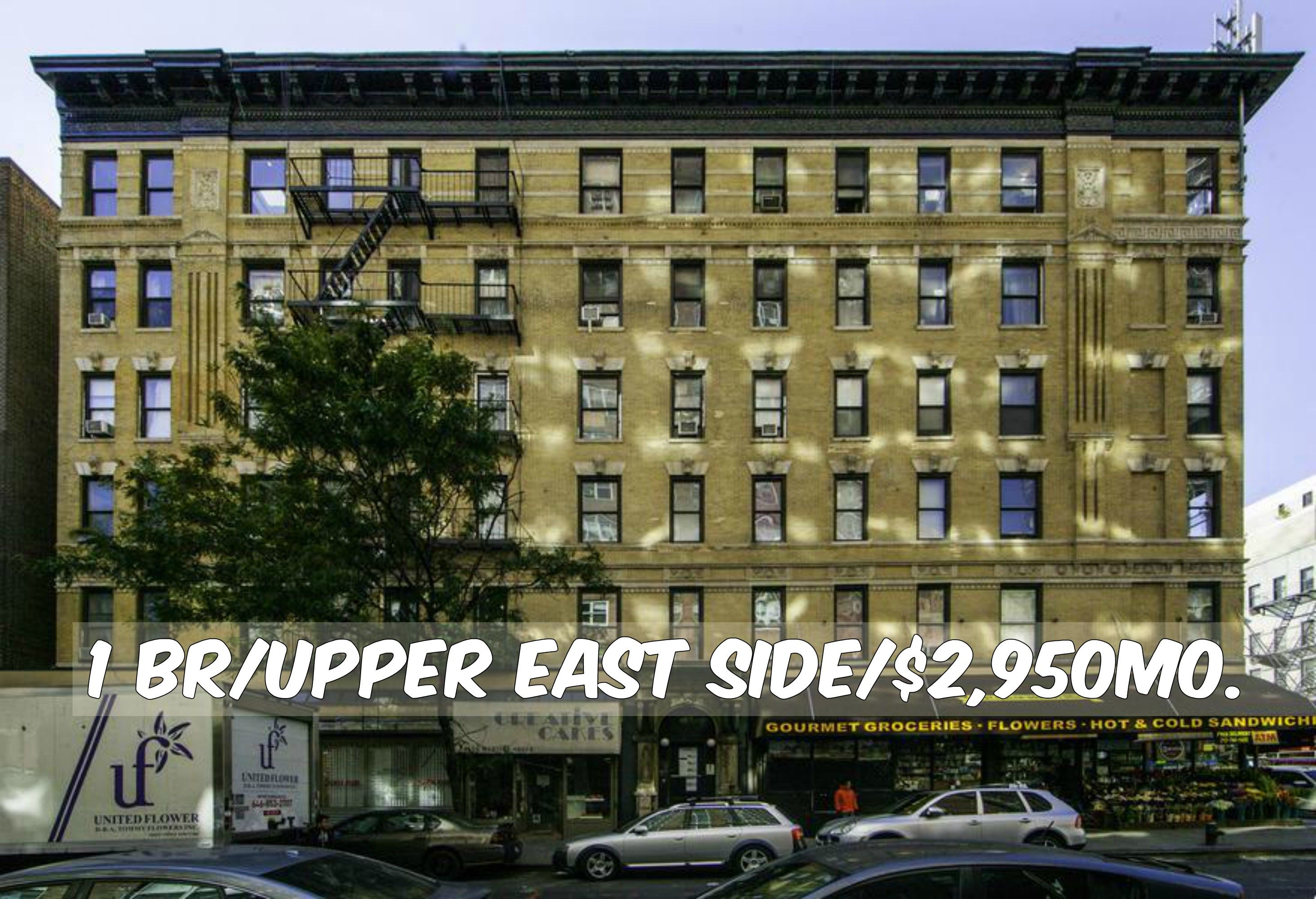 1 BR apt for rent in Upper East Side at $2,950/mo ...