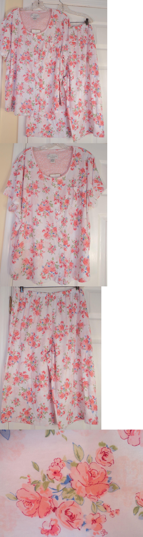 Red flannel nightgown  Sleepwear and Robes  Karen Neuburger Pajama Set Capri X Pink