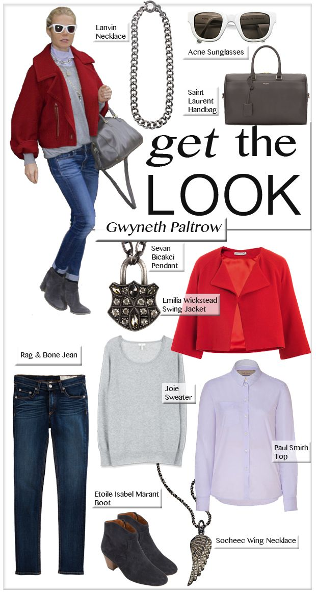 Gwyneth Paltrow, New Year's Day - Get the Look