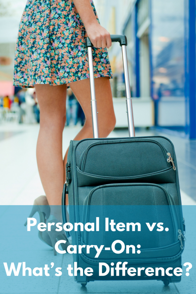 Carryon and Personal Item Size Limits for 32 Airlines