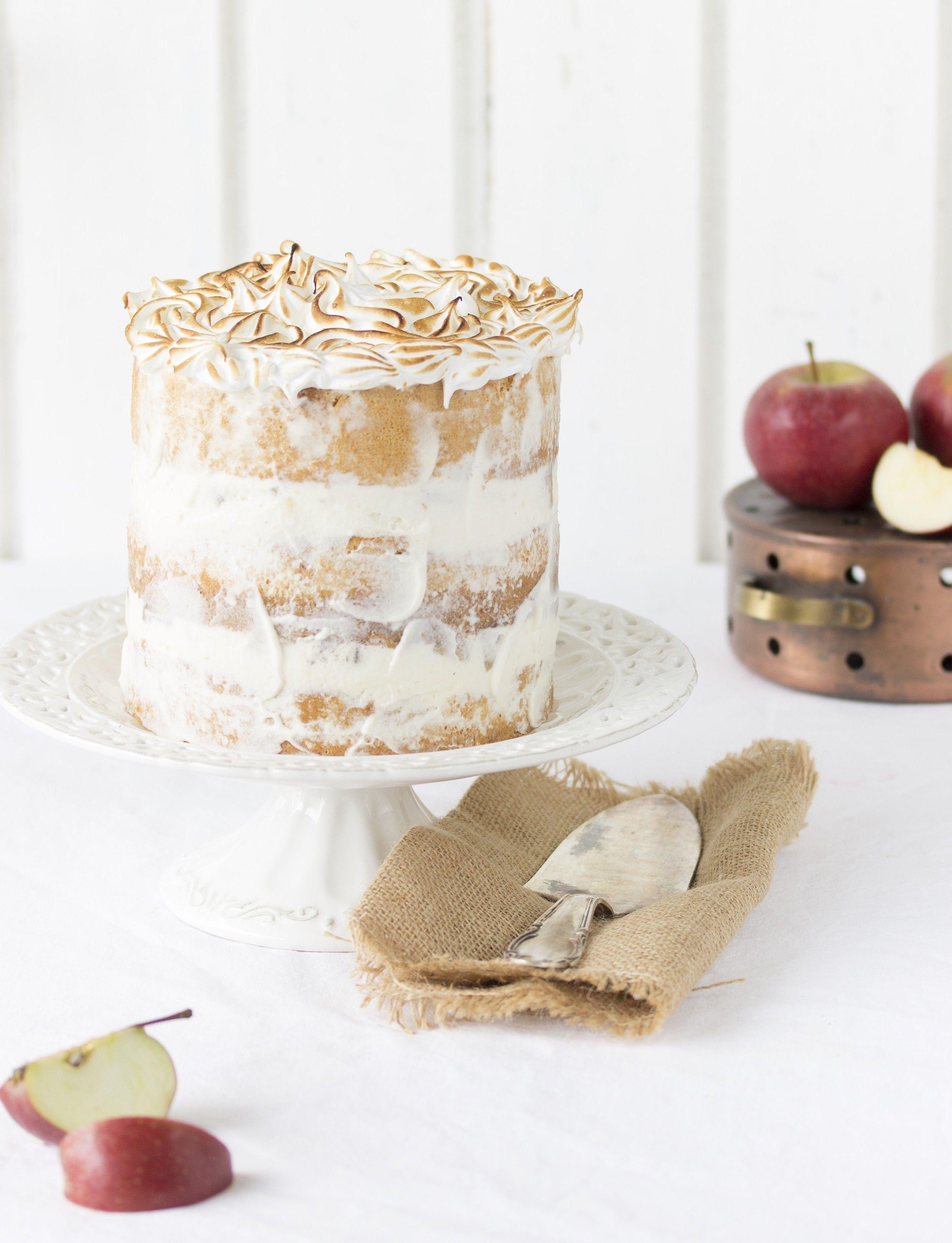 Apfel Baiser Torte Torten Kuchen Tartes Usw Pinterest