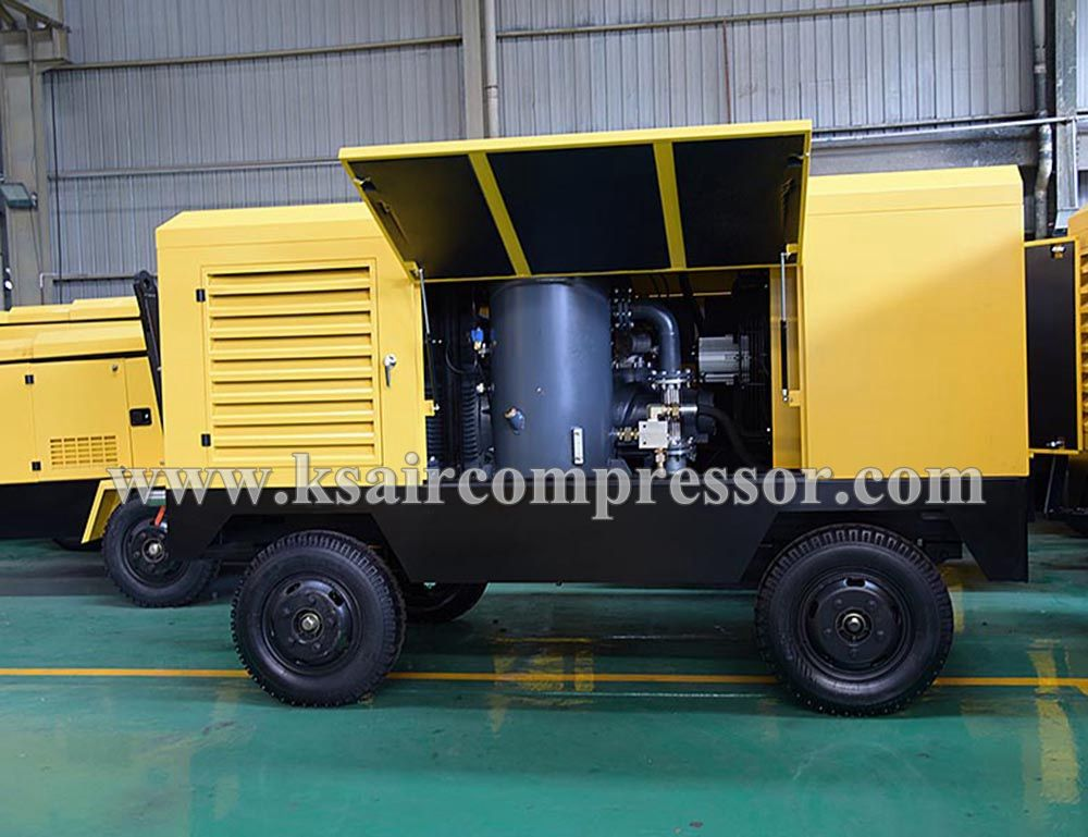 rotary screw air compressor, mining screw compressor