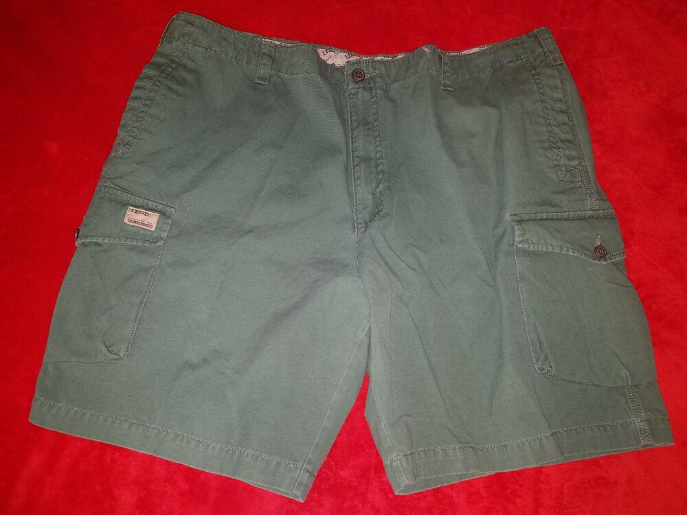 389be23ef4 IZOD MENS SIZE 42 GREEN CARGO SHORTS NEW #fashion #clothing #shoes  #accessories #mensclothing #shorts (ebay link)