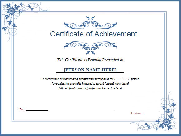 Free Award Templates For Word Winner Certificate Download At Httpwww.doxhubwinner .
