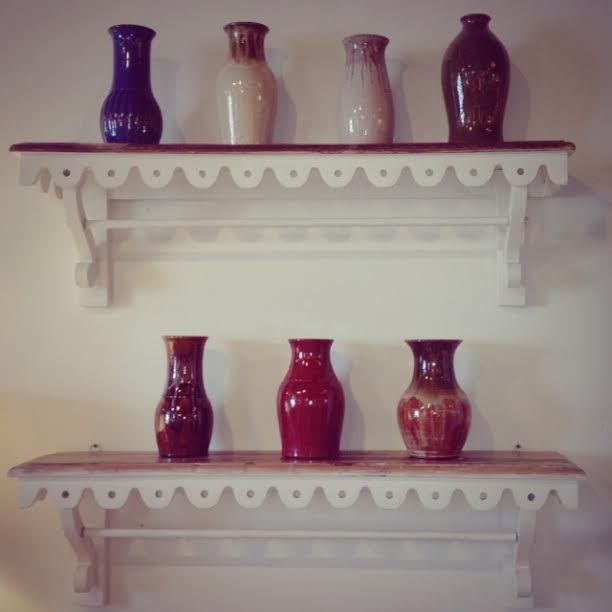 Laura Ramsey Furniture U0026 Interiors | Madeleine Shelves With #charliewest  #vases. #lauraramseyinteriors