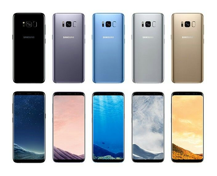 e209192b8bd409 All colors of Samsung Galaxy 8 and 8+   Sammy's Gadget ...