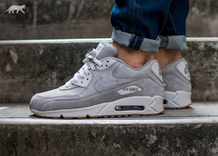 cheap for discount 4a63c 2af21 The awesome Nike Air Max 90 LTR PRM Grey. http