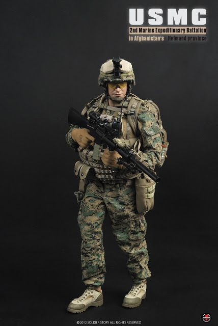 onesixthscalepictures: Soldier Story USMC 2nd Marine Expeditionary Battalion : Latest product news for 1/6 scale figures (12 inch collectibl...