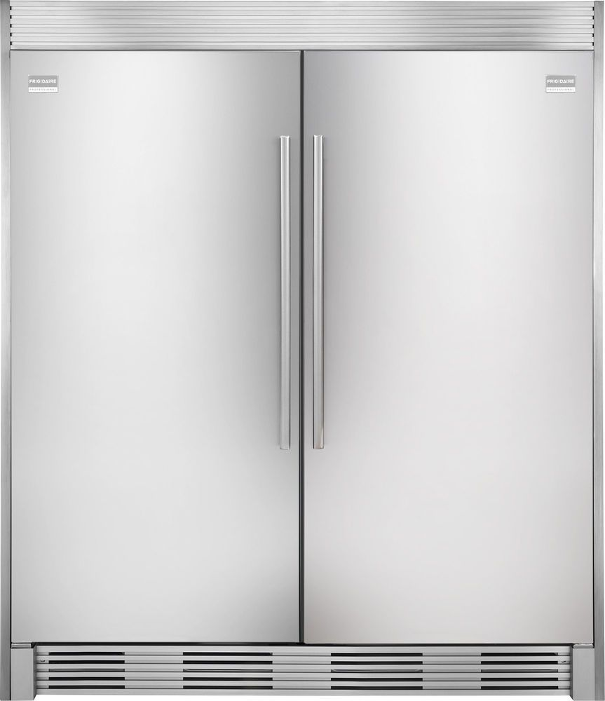 Frigidaire PRO Stainless Refrigerator Freezer Combo & Trim ...