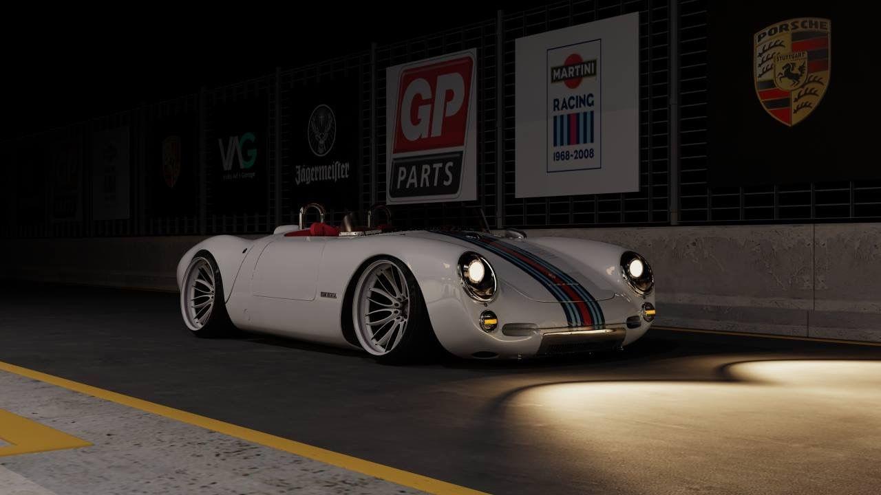 Porsche 550 Spyder Am Making Replica First Year C1