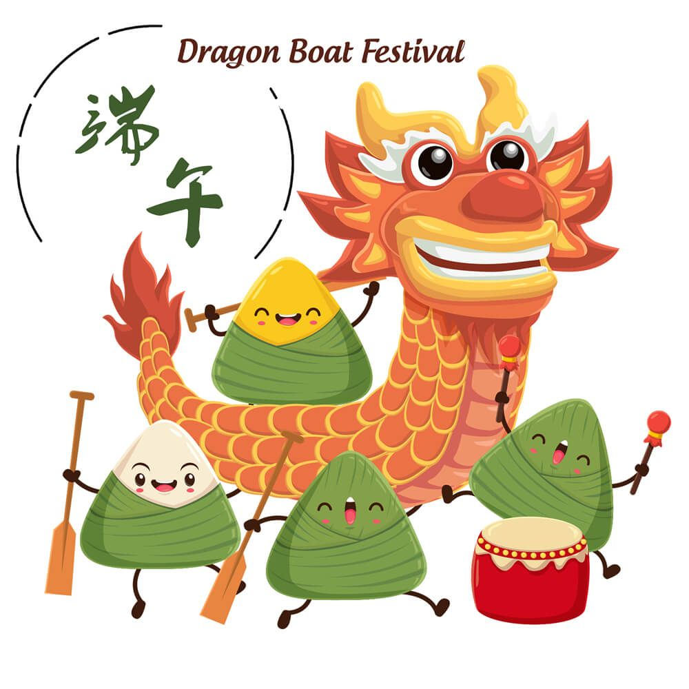Nice sharing China Dragon Boat Festival (June 18th,2018