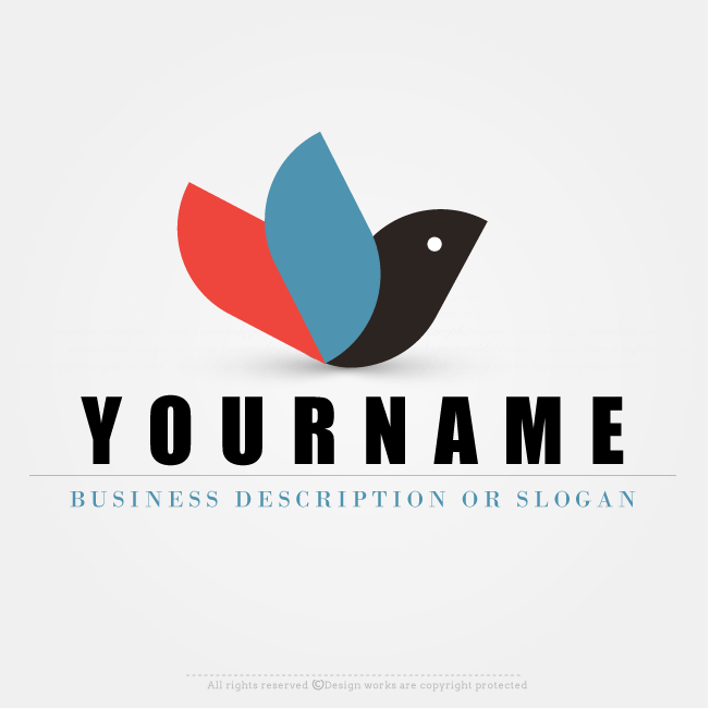 Free Logo Maker - Ready made Dove logo design online   Logo maker ...