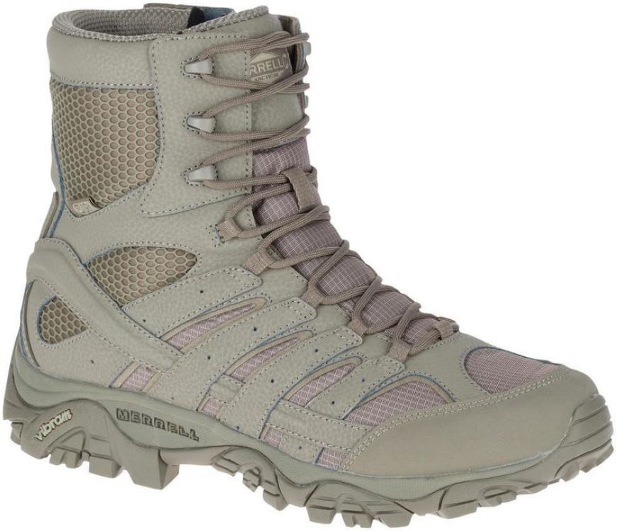Merrell MOAB 2 8 in. Brindle Tactical Waterproof Boot. Excursionismo SenderismoRopa De ...