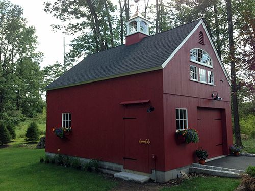 Barns kits barn sheds garage carriage house post for Coach house garage prices