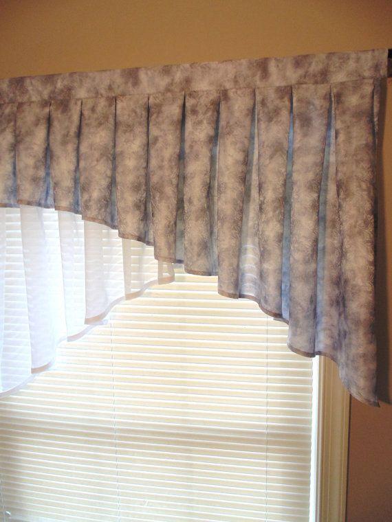 Valance kitchen Kitchen curtains Kitchen by NellisSewingCreation ...