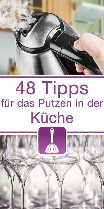 48 Tipps \ Tricks für das Putzen in der Küche - schöne mülleimer für die küche