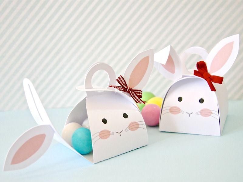 Diy Come Fare Una Scatola Coniglio Porta Ovetti Easter