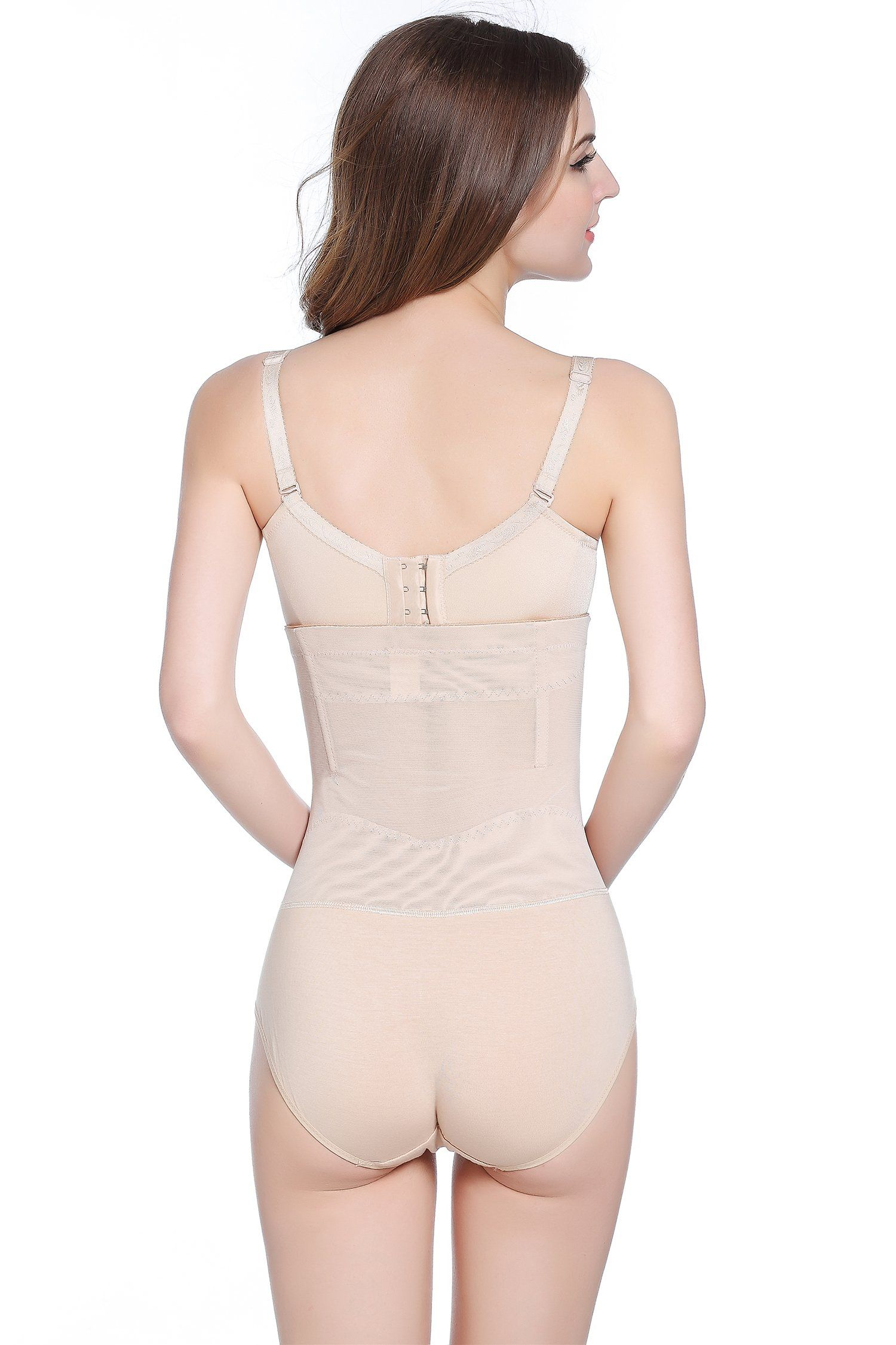 2a4583967 cool nik Plus Size Tummy Control Panties Womens Shapewear HiWaist Full  Brief Firm Control Tummy Slimming Beige 3XLarge   Check out this great  product.