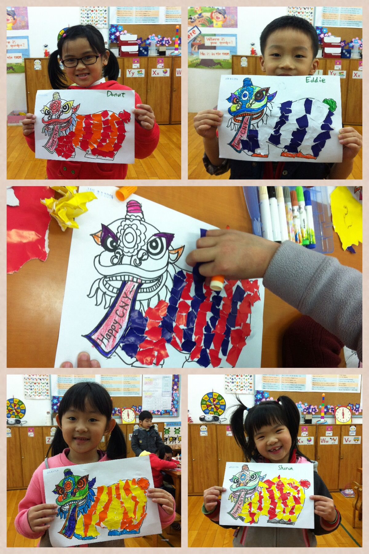 Lion Dance Craft With Images