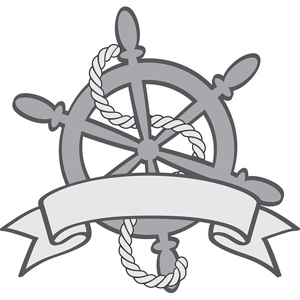Ship Wheel (With images) | Silhouette design, Sports ...