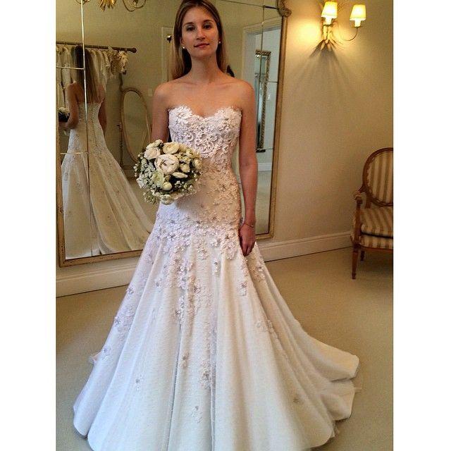 Última prova da Stephanie #vestidodenoiva #wandaborges