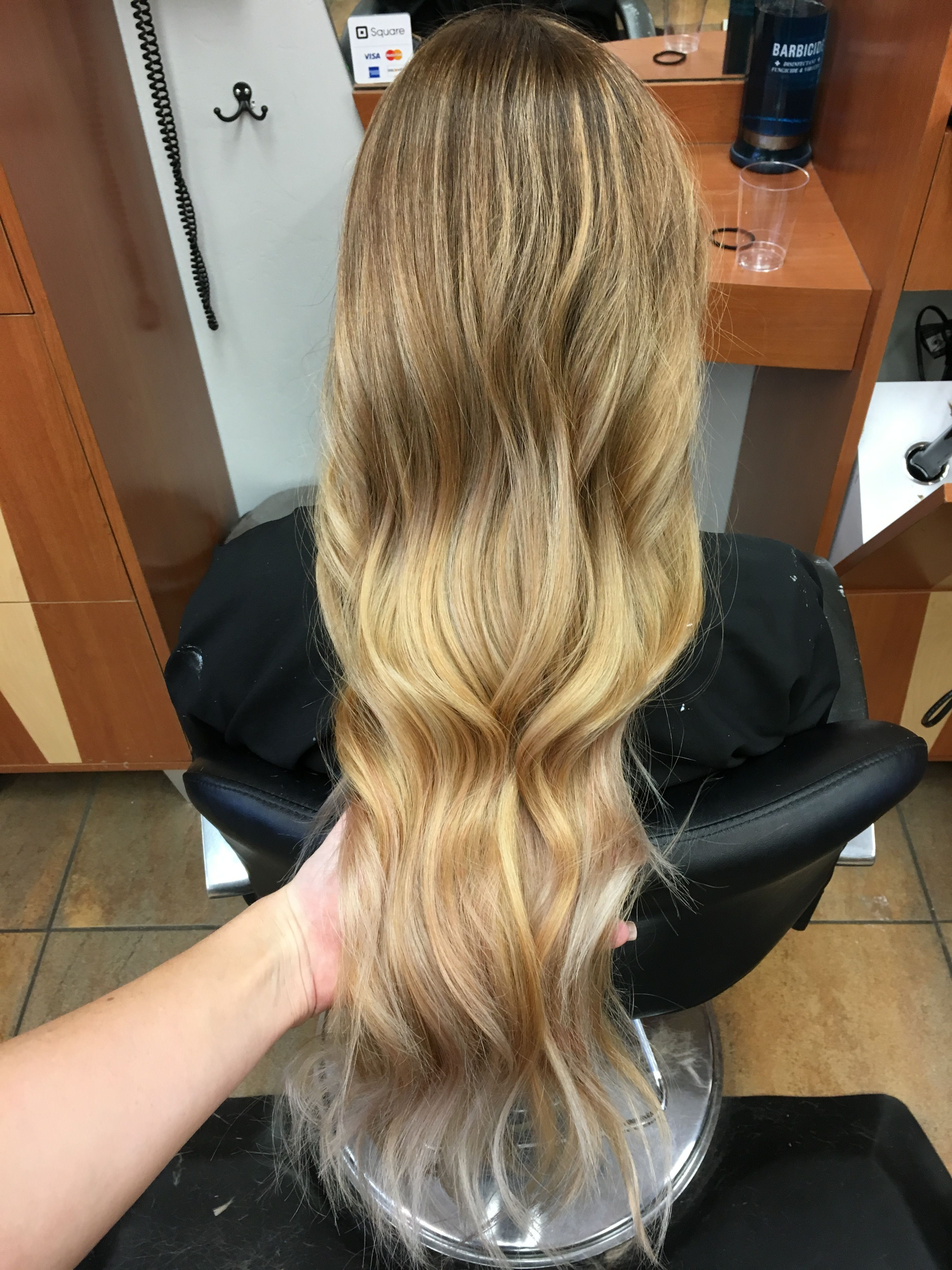 Babylights Balayage Ombre Blonde Hair Bakersfield Hair My Work