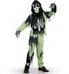 Décorations, déguisements et maquillage de fête Halloween pour les enfants   Costumes de zombie ...