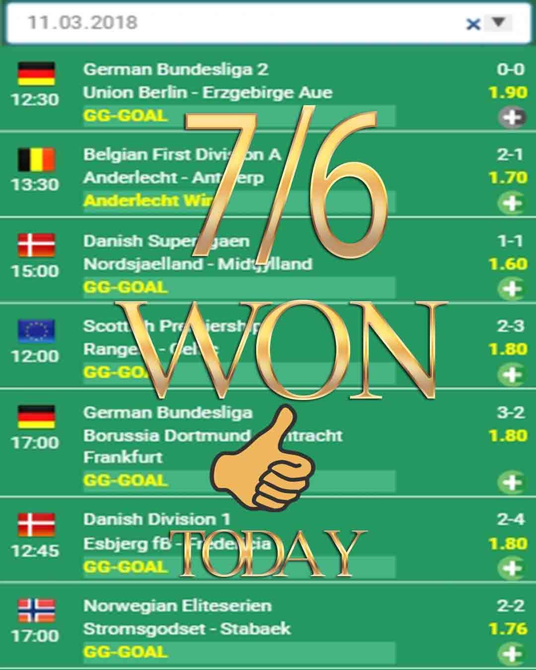 Vip betting sports 7/6 WON sports betting, sport betting