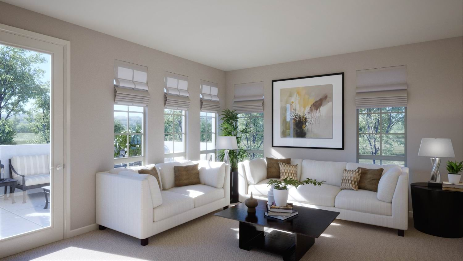 Envision hosting your guests in this glamorous space…