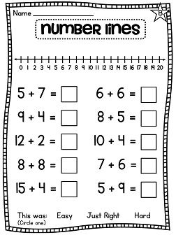 first grade math unit 4 addition to 20 first grade friends math kindergarten math. Black Bedroom Furniture Sets. Home Design Ideas