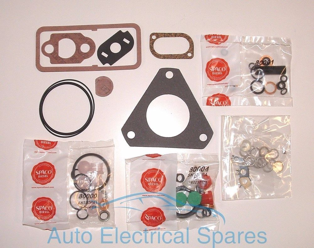 diesel fuel injection pump gasket seal repair kit 7135 110 lucas cav dpa spaco [ 1000 x 789 Pixel ]