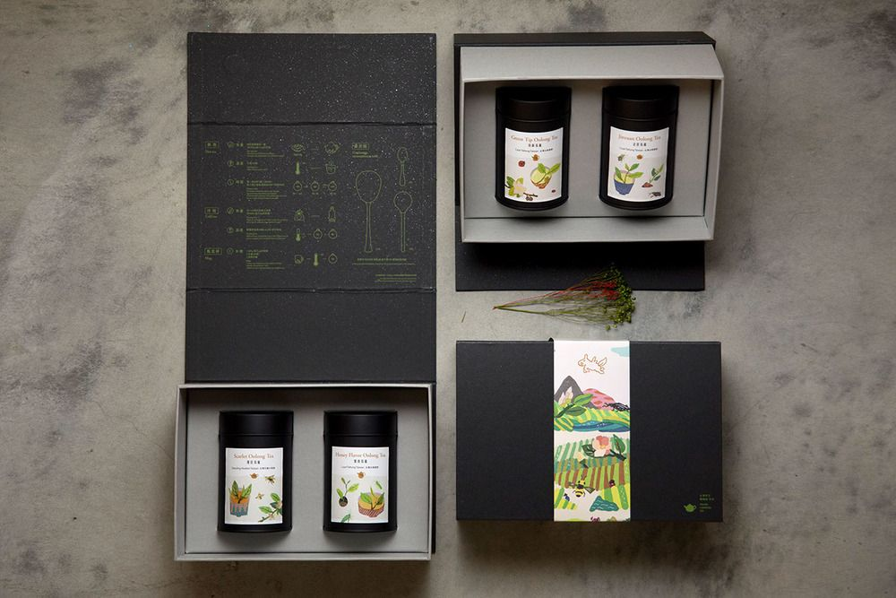 FongCha Tea — The Dieline - Branding & Packaging Design