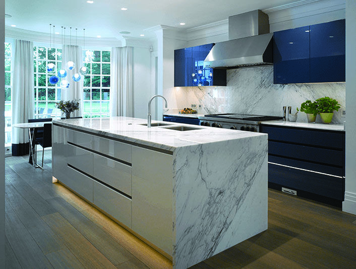 graceful wood and white kitchen island only on this page