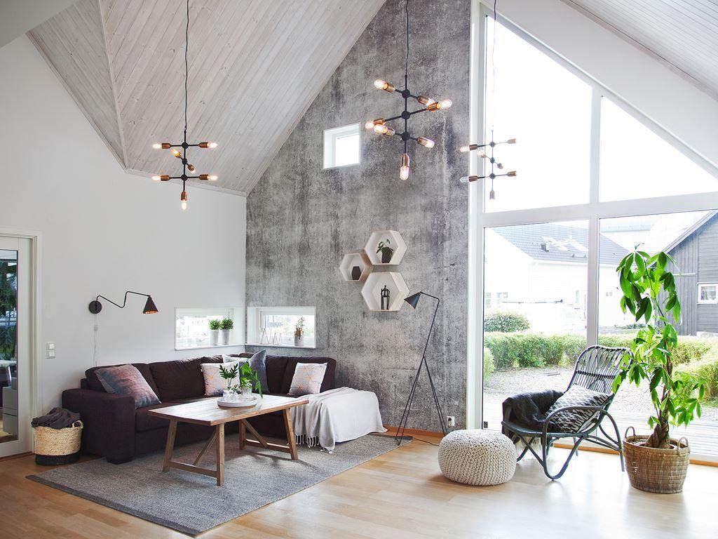Kornett är ett av Myresjöhus allra mest populära hus. Huset har ljus och rymd, ett stort badrum, tre generösa sovrum och takhöjd ända upp till nocken.
