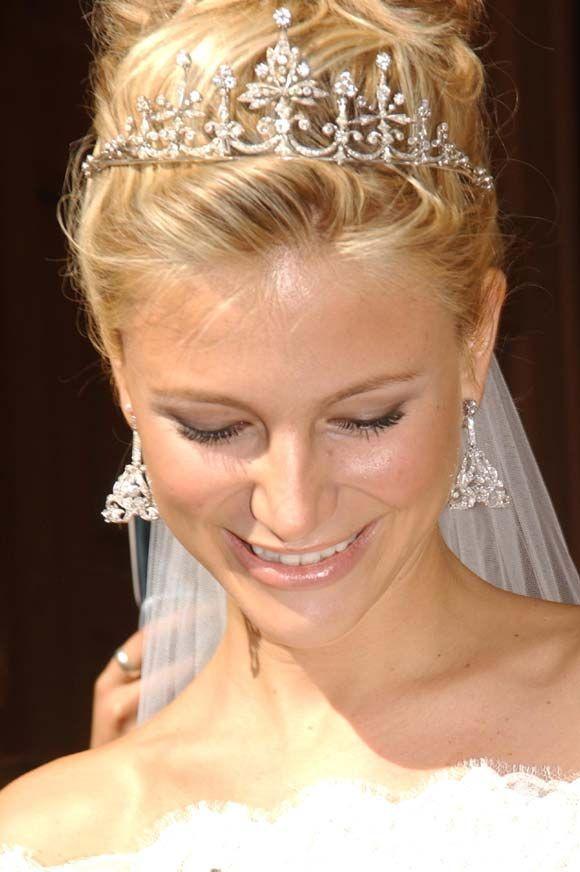 Resultado de imagen de novia con tiara escriva de romani