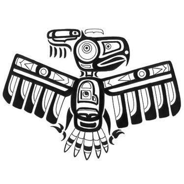 12 Amazing Thunderbird Native Tattoo Designs Em 2020 Simbolos