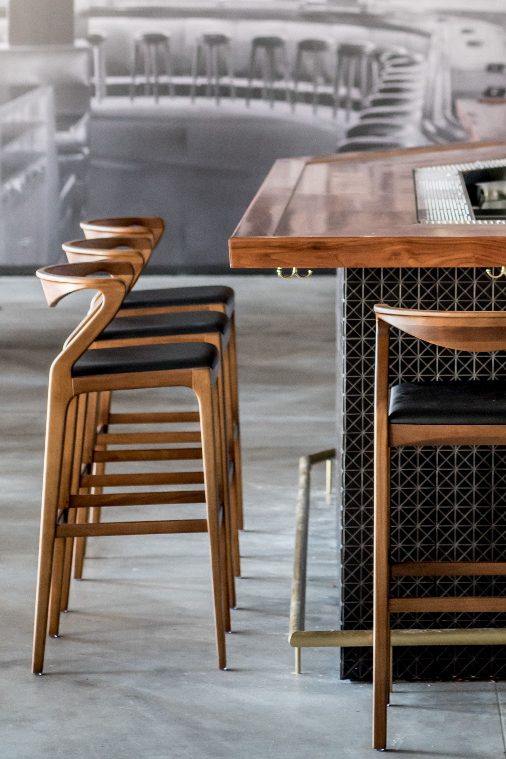 Duda Bar Stool Designed By Aristeu Pires Available At Sossego Modern And Contemporary Brazilian Designer Bar Stools Bar Chairs Kitchen Contemporary Bar Stools