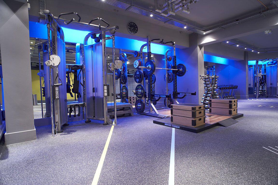 Mood Lighting Makes It Gym Lighting Gym Design Gym Decor