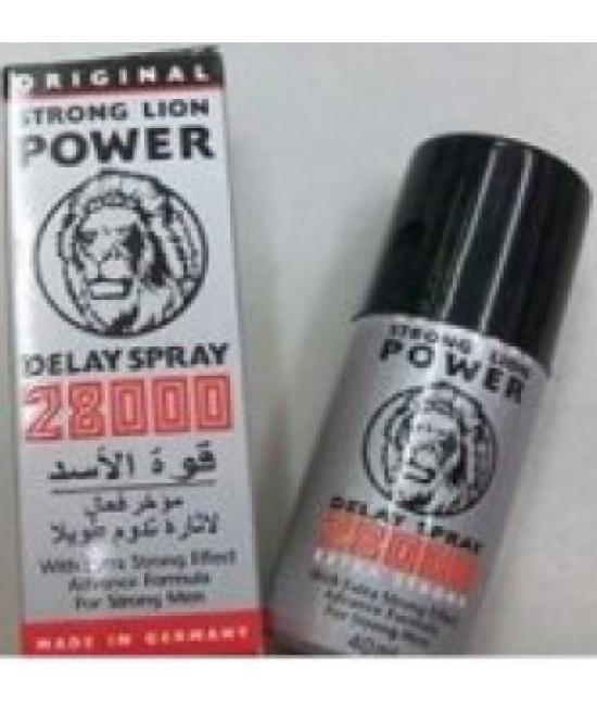 original strong lion power 28000 timing delay spray delay spray