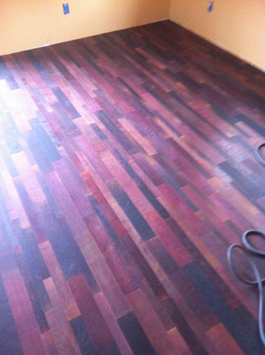 Purple Hardwood Flooring Google Search Staining Wood Purple Wood Stain Purple Kitchen